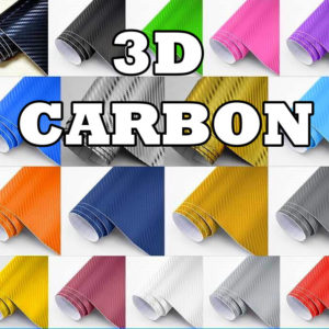3D Carbon Folie