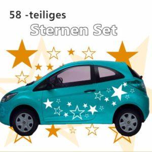 58 -teiliges Sternen Set