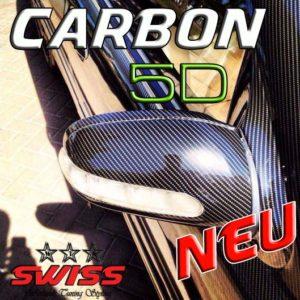 Carbonfolie 5D