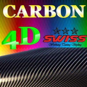 Carbonfolie 4D