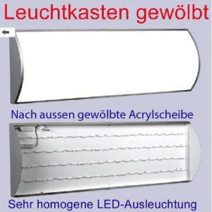 Leuchtwerbung leuchtkaste Leuchtreklame